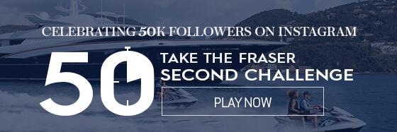 CELEBRATING 50K INSTAGRAM FOLLOWERS, 50 SECOND CHALLENGE