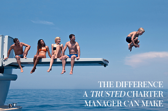 Getting your charter yacht marketing on point for when demand returns: the difference a trusted Charter Manager can make