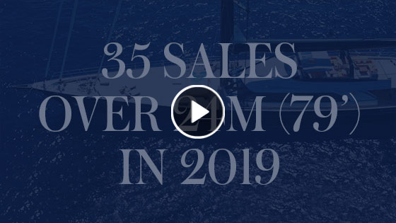 35 sales over 24m(79') in 2019