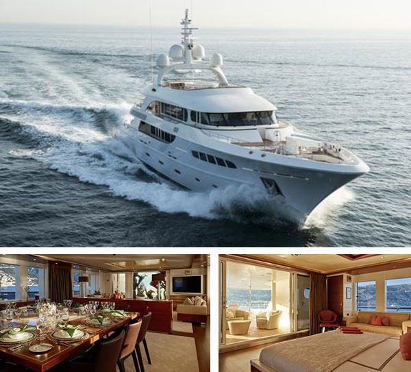 NASSIMA -                 MOTOR YACHT FOR SALE AND CHARTER